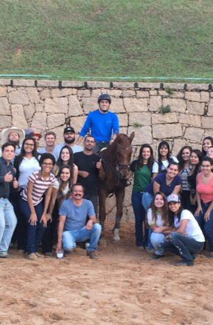 Aula em hípica encerrou curso durante a Semana Equestre de Jundiaí