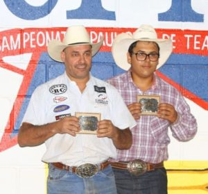 premiacao team roping