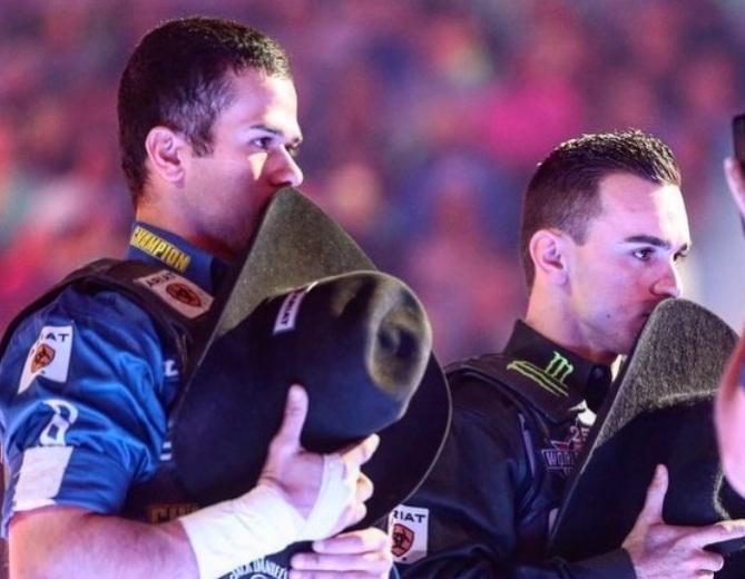 Kaique Pacheco campeão mundial da PBR