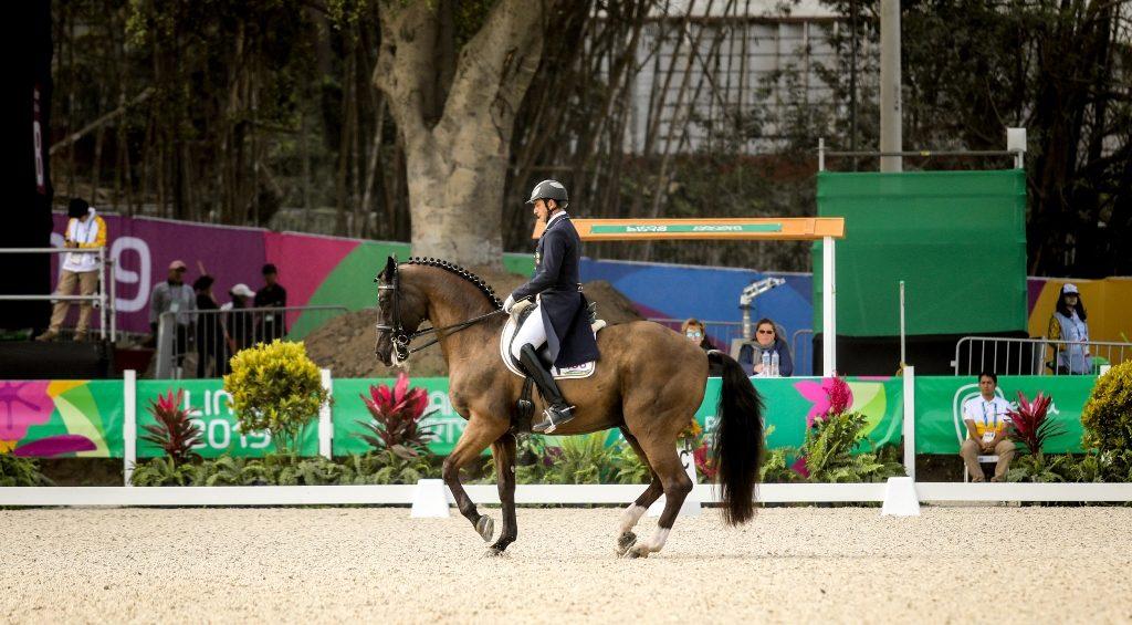 Adestramento nos Jogos Pan-americanos
