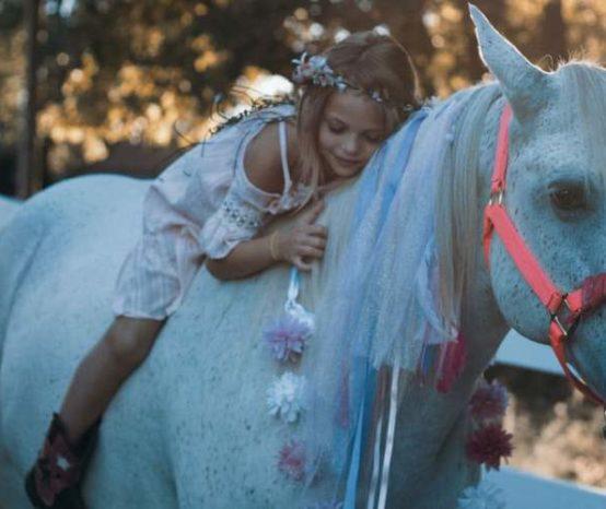 Por que os cavalos são bons para as crianças