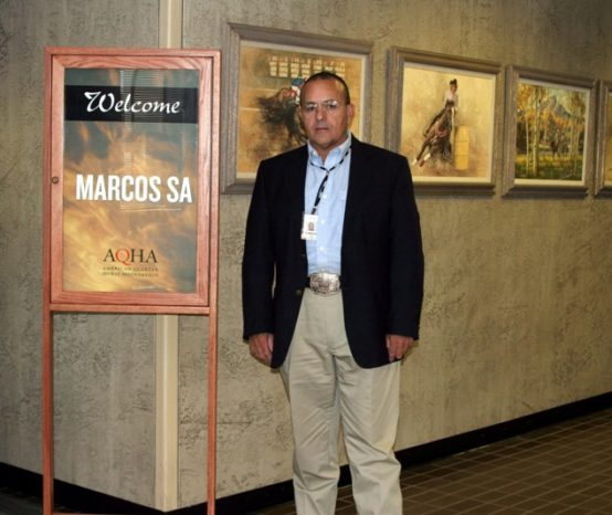 Marcos Sá no AQHA Executive Hall Of Fame Committee