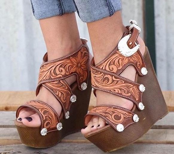 calçados de uma cowgirl!