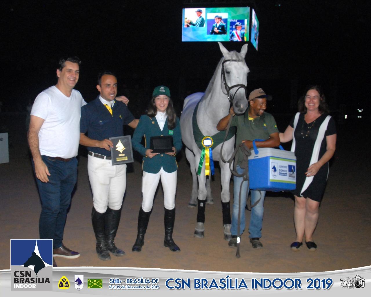 BH Kara Pullman fica em segundo no GP do CSN Brasília Indoor 2019
