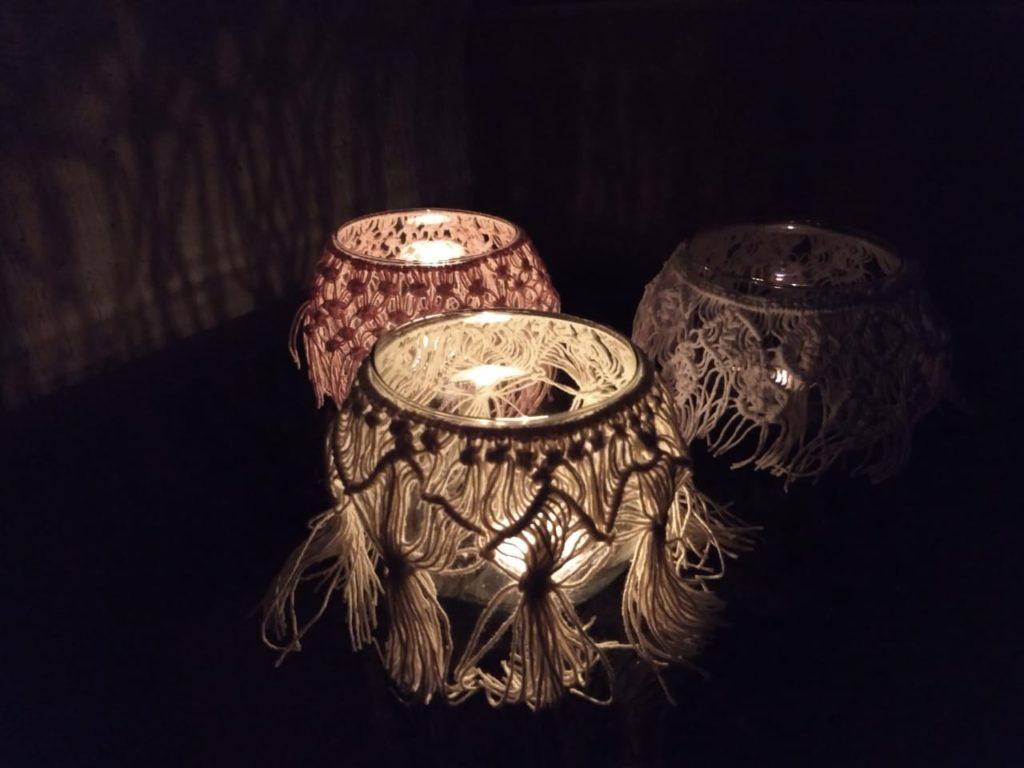 Luminárias em Macramê: um ar romântico para qualquer ambiente