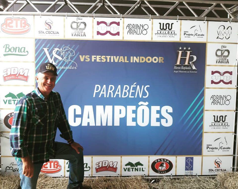 VS Festival Indoor entra para a história dos Três Tambores