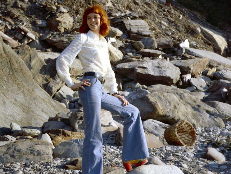 A calça flare tem origem no século 19