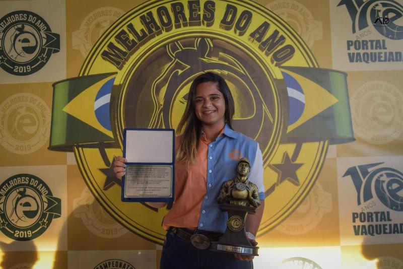 Giovana Ferreira domina o circuito brasileiro de Vaquejada