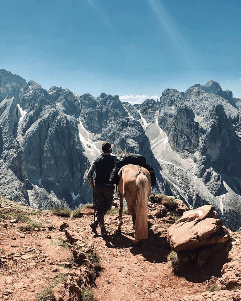 Travessia nos Alpes – Itália
