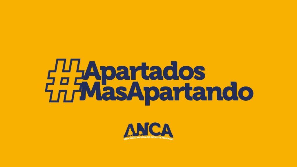 ANCA lança campanha #ApartadosMasApartando Associação Nacional do Cavalo de Apartação vista estimular modalidade em tempos de pandemia