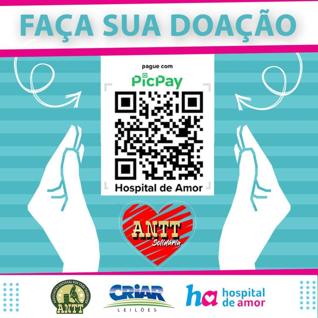 ANTT promove ação solidária em prol do Hospital de Amor Um leilão de coberturas de animais consagrados nas pistas reverterá total arrecado para o hospital que cuida de pacientes com câncer em Barretos