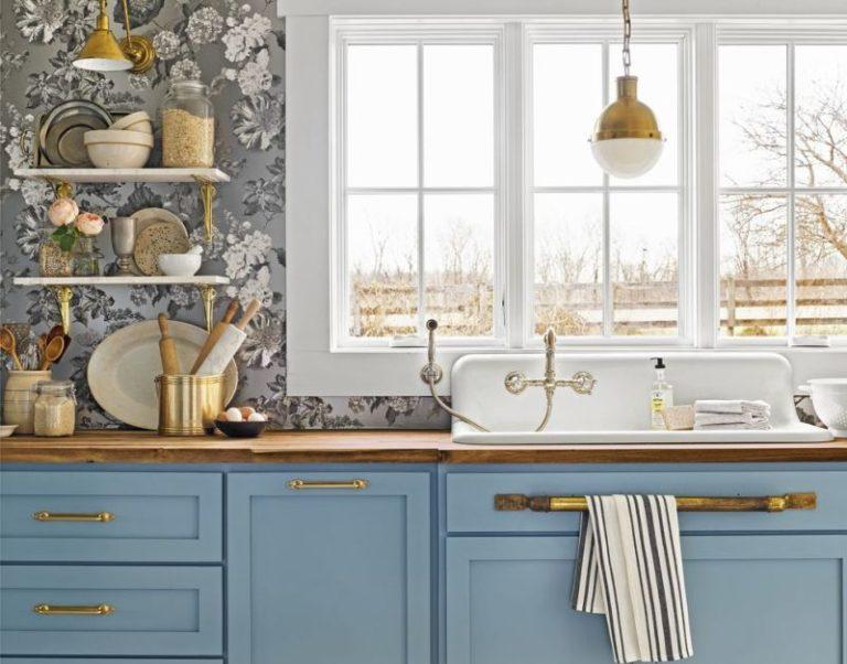 Ideias para decorar sua cozinha com papel de parede Você pode adicionar o estilo que quiser