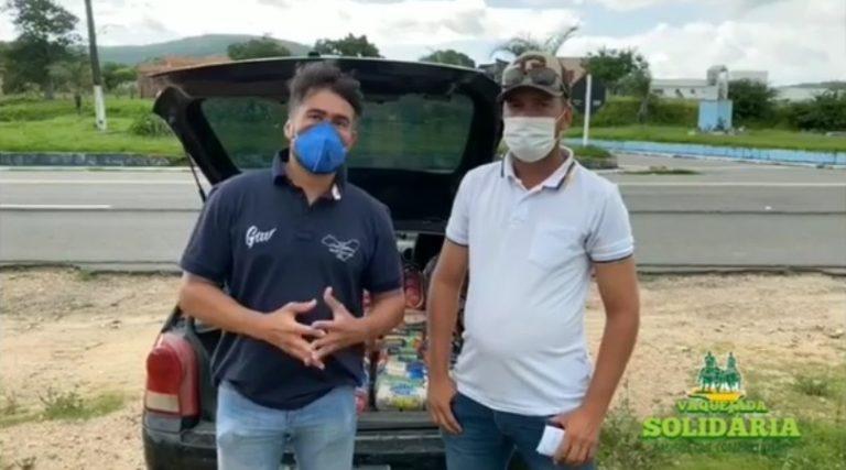 'Vaquejada Solidária' contempla 734 famílias em 12 estados Campanha liderada pela ABVAQ já distribuiu 13 toneladas de alimentos por todo o norte-nordeste