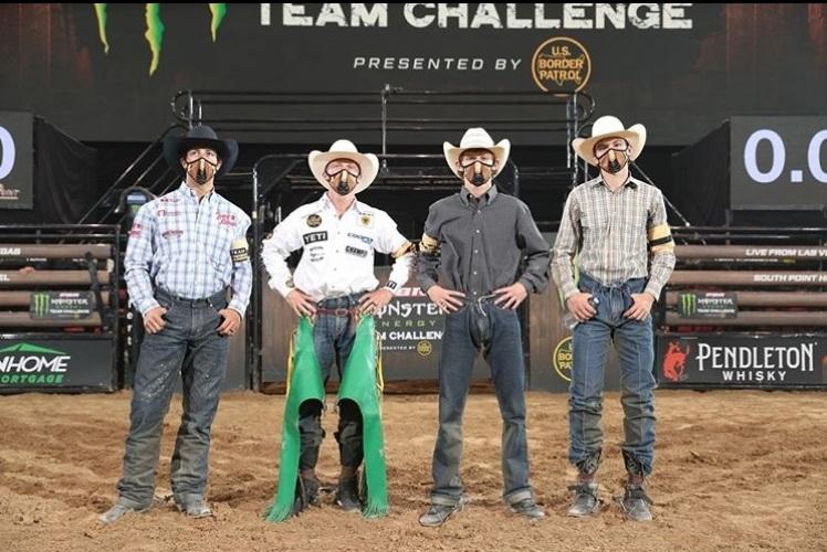 100% para o Team Ariat na Divisão B do PBR Team Challenge Competição inédita por equipes segue em sua segunda fase de classificatórias com as disputas entre seis novos times