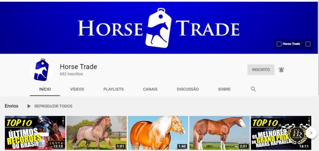 Horse Trade cria soluções práticas no ambiente online Sucesso entre os amantes dos Três Tambores, principalmente, a Horse Trade vem despertando uma nova forma de 'olhar' o mercado do Quarto de Milha