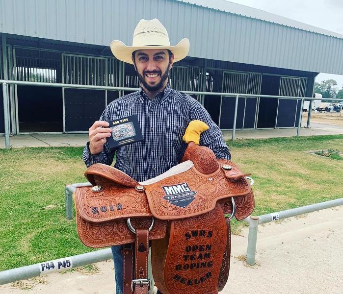 Rodrigo Dib torna-se campeão de Laço na Austrália Brasileiro foi para o país estudar e trabalhar, contudo logo retomou os treinos e provas