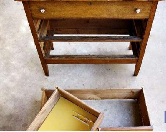 Uma cômoda antiga se transforma em um lindo aparador Essa é mais uma dica de projeto no estilo 'Faça Você Mesmo' para dar vida a um móvel velho