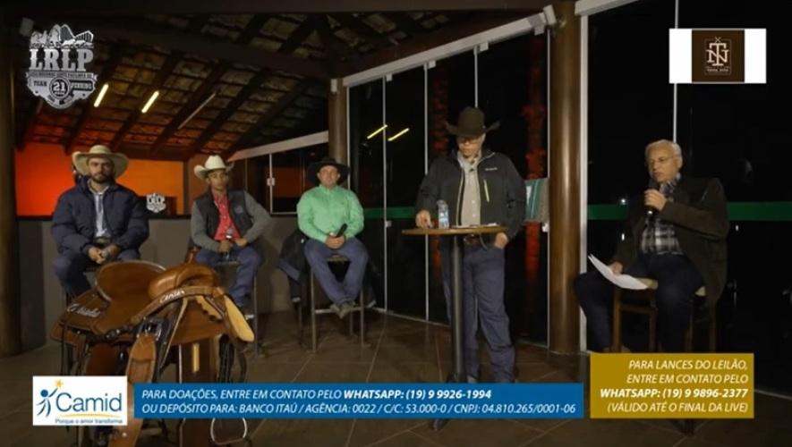 Team Penning realiza live em formato inédito. Evento foi promovido pela Liga Leste Paulista de Team Penning no começo de julho