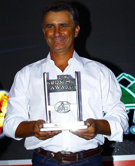 Hoje o número 2 de todos os tempos em pontuação no ranking geral da ABQM, Vagner Simionato é um cavaleiro completo e um mestre