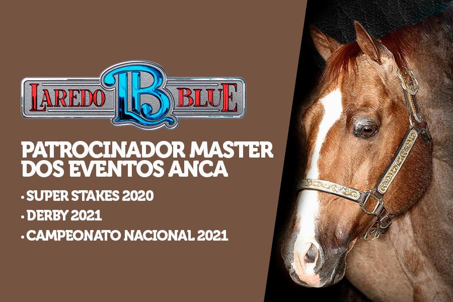 Logo após adiar o Potro do Futuro, a ANCA dá boas notícias para a temporada 2020/2021 da Apartação: patrocinador master Laredo Blue