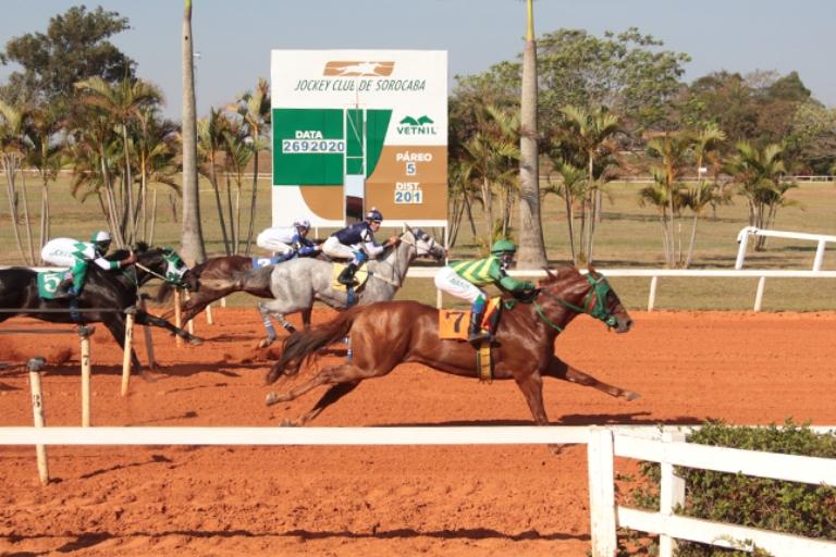 As corridas da tarde no Jockey Club de Sorocaba foram III Derby, GP São Paulo e Taça de Bronze, que já tem seus campeões 2020