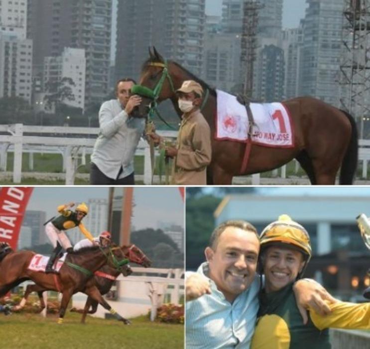 No Grande Prêmio ABCPCC, destaque da programação do Jockey Club de São Paulo, No Way José mostrou uma história de superação