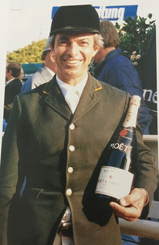 Eduardo Menezes é vice em prova 5* no Winter Equestrian Festival
