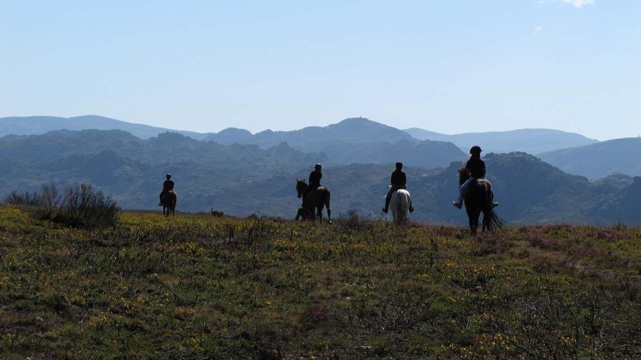 Cavalgada em Parques Nacionais