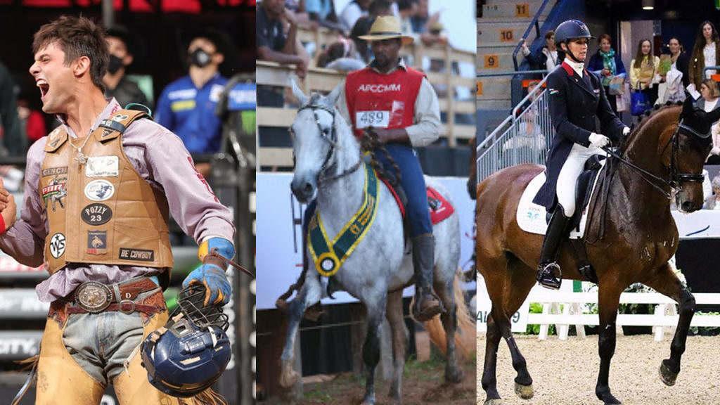 Em uma prova que congregue todos os esportes, só de olhar para a vestimenta do competidor você consegue identificar a modalidade que fazem?