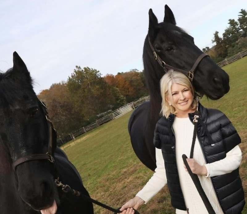 Martha Stewart, eleita uma das 50 mulheres mais poderosas no mundo dos negócios, ela é atriz, escritora, apresentadora e empreendedora