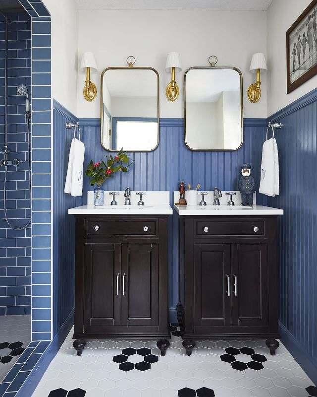 Paleta azul: no momento de uma remodelação de algum cômodo ai da sua casa, além da cor, escolha objetos que reflitam a sua personalidade