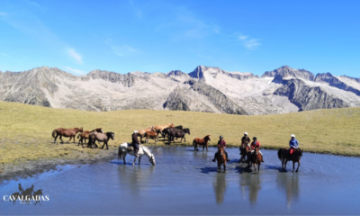 Cavalgada no Valle Escondido - Pireneus - Espanha