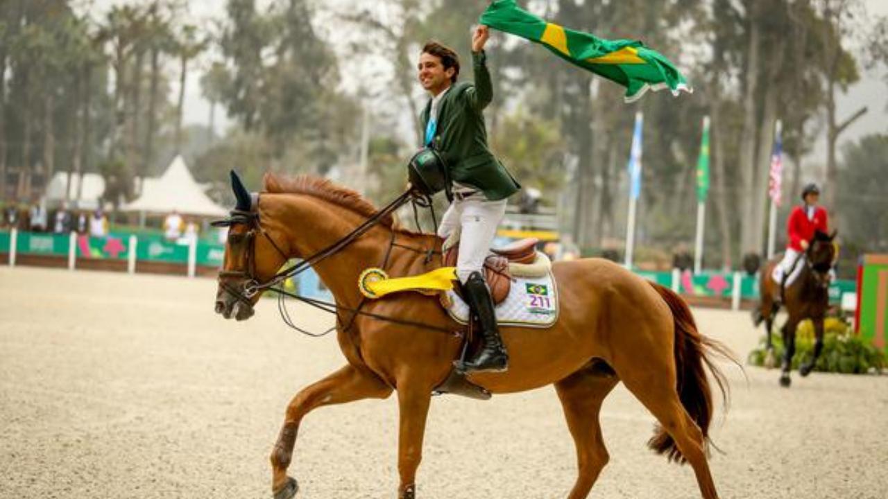 Maranhense radicado na Europa, campeão pan-americano individual e por equipes no Pan 2019, é forte candidato ao Time Brasil de Salto em Tóquio
