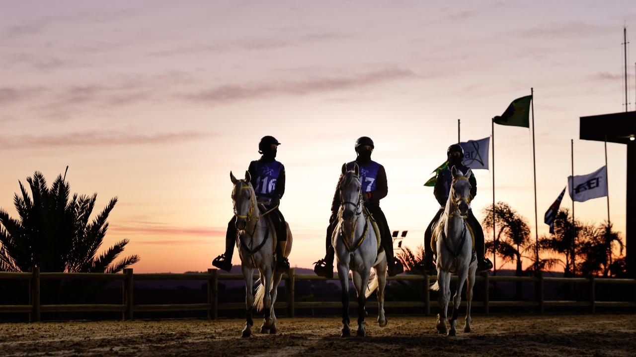 Festival Internacional de Enduro Equestre, que ocorreram de forma simultânea com a IV Etapa do Paulistão 2021