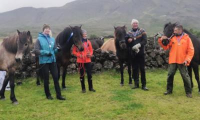 Cavalgada de resistência na Islândia
