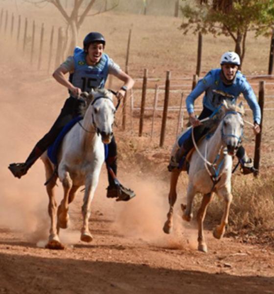 Cavalo Árabe se sobressai durante o 30º Campeonato Brasileiro de Enduro Equestre