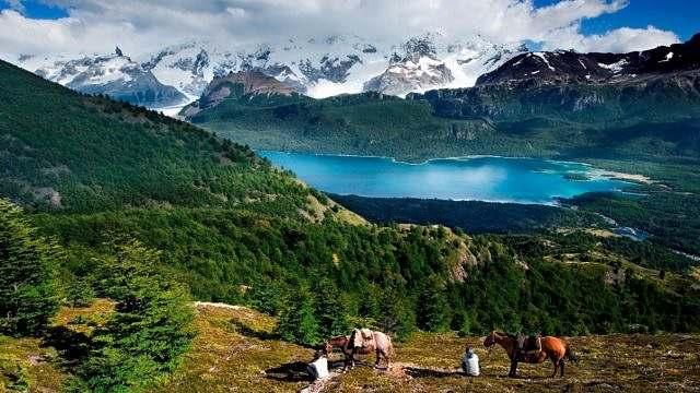 Cavalgada no Parque Nacional Los Glaciares 01
